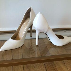 Enzo Angiolini White Leather pumps - 7